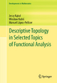 Descriptive Topology in Selected Topics of Functional Analysis - Jerzy Kakol; Wieslaw Kubis; Manuel Lopez Pellicer