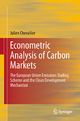 Econometric Analysis of Carbon Markets - Julien Chevallier