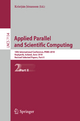 Applied Parallel and Scientific Computing - Kristján Jónasson