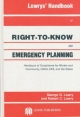 Lowrys' Handbook of Right-to-Know and Emergency Planning, Sara Title III - George G. Lowry; Robert Lowry