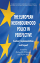 European Neighbourhood Policy in Perspective - Richard G. Whitman; Stefan Wolff