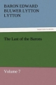 The Last of the Barons - Edward George Bulwer-Lytton