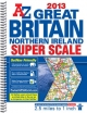 Great Britain Super Scale Road Atlas - Geographers' A-Z Map Company