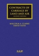 Contracts of Carriage by Land and Air - Malcolm A. Clarke; David Yates