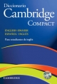 Diccionario Bilingue Cambridge Spanish-English Paperback with CD-ROM Compact Edition