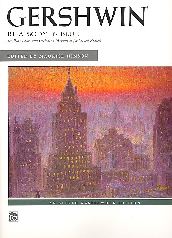 Rhapsody in Blue for piano and orchestra - 000425