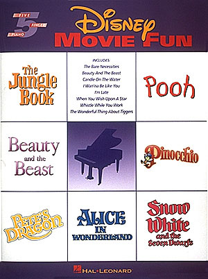 Disney Movie Fun : Songbook for