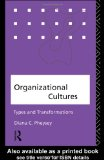 Organizational Cultures: Types and Transformations - C. Pheysey, Diana and C. Pheysey Diana
