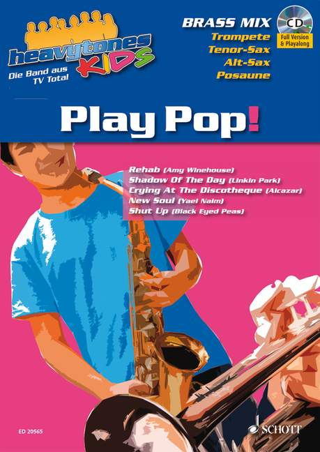 Heavytones Kids: Play Pop! die freshe Playalong-Serie, (Reihe: heavytones KIDS) - Dalheimer, Wolfgang Norman (Bearb.)