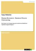 Human Resources - Business Process Outsourcing - Tanju Tüfekciler