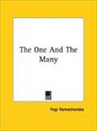 One and the Many - Yogi Ramacharaka