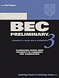 Cambridge BEC Preliminary 3. Students Book with answers