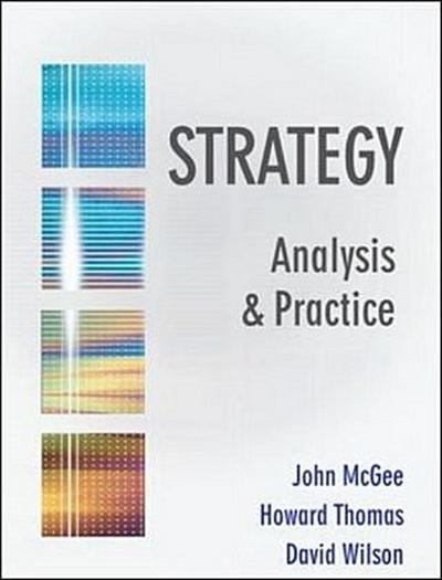 Strategy: Text. Analysis and Practice - JohnThomas McGee
