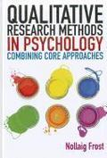 Qualitative Research Methods in Psychology - Nollaig Frost