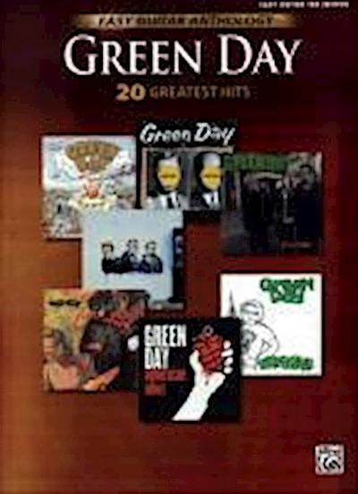 Green Day -- Easy Guitar Anthology: 20 Greatest Hits - Day Green