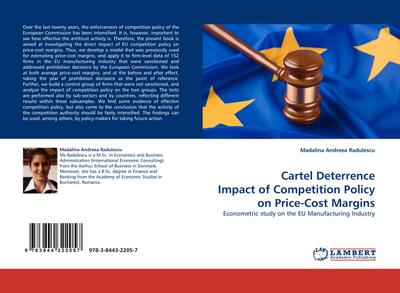 Cartel Deterrence Impact of Competition Policy on Price-Cost Margins - Madalina Andreea Radulescu