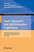 Power Electronics and Instrumentation Engineering - Vinu V. Das
