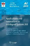 Applications and Innovations in Intelligent Systems XVI - Tony Allen