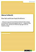 Das Sale-and-lease-back-Verfahren - Marcus Vollbrecht