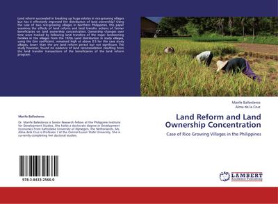 Land Reform and Land Ownership Concentration - Marife Ballesteros