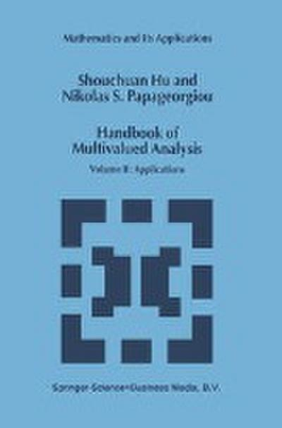 Handbook of Multivalued Analysis 02 - Shouchuan Hu