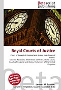 Royal Courts of Justice - Lambert M. Surhone
