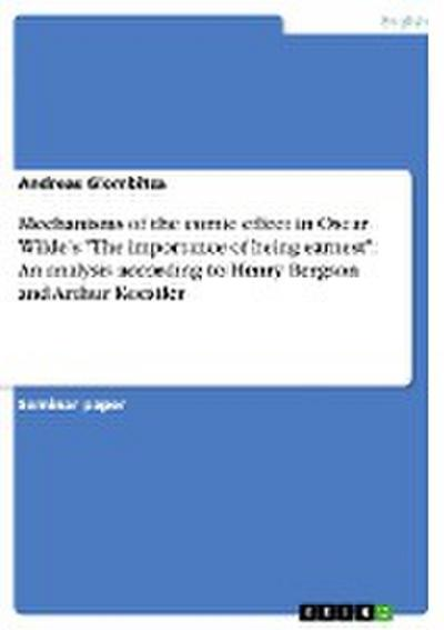 Mechanisms of the comic effect in Oscar Wilde's