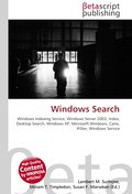 Windows Search - Lambert M. Surhone