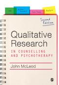 Qualitative Research in Counselling and Psychotherapy - John McLeod