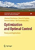 Optimization and Optimal Control - Altannar Chinchuluun