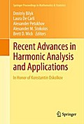 Recent Advances in Harmonic Analysis and Applications - Dmitriy Bilyk