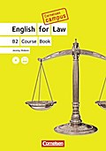 Cornelsen Campus: English for Law. B2 Coursebook mit CDs - Jeremy Walenn
