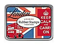 Kleines Stempel Set London: 10,4 x 8 cm