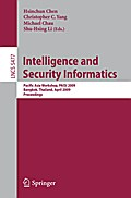 Intelligence and Security Informatics - Michael Chau