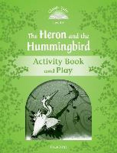 The Heron and the Hummingbird Activity Book and Play - Victoria Tebbs