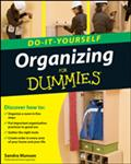 Organizing Do-It-Yourself For Dummies - Sandra Munson