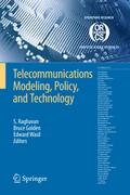 Telecommunications Modeling, Policy and Technology - S. Raghavan