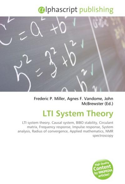 LTI System Theory - Frederic P. Miller