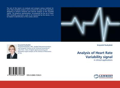 Analysis of Heart Rate Variability signal - Krzysztof Kudrynski