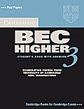 Cambridge BEC Higher 3. Student`s Book with answers