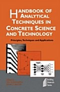 Handbook of Analytical Techniques in Concrete Science and Technology - V.S. Ramachandran