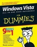 Windows Vista All-in-One Desk Reference For Dummies - Vudi Leonard