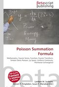 Poisson Summation Formula - Lambert M. Surhone