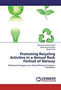 Promoting Recycling Activities in a Annual Rock Festival of Norway - Murtaza Hussain Shaikh