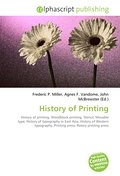 History of Printing - Frederic P. Miller