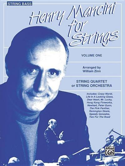 Henry Mancini for Strings, Vol 1: Bass - Henry Mancini