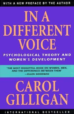 In a different voice psychological theory and women's develo pment