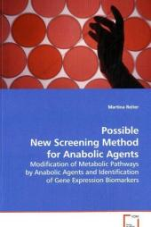 Possible New Screening Method for Anabolic Agents - Martina Reiter