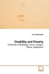 Disability and Poverty - Shafirul Islam