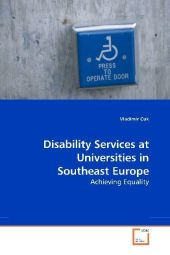 Disability Services at Universities in Southeast Europe - Vladimir Cuk